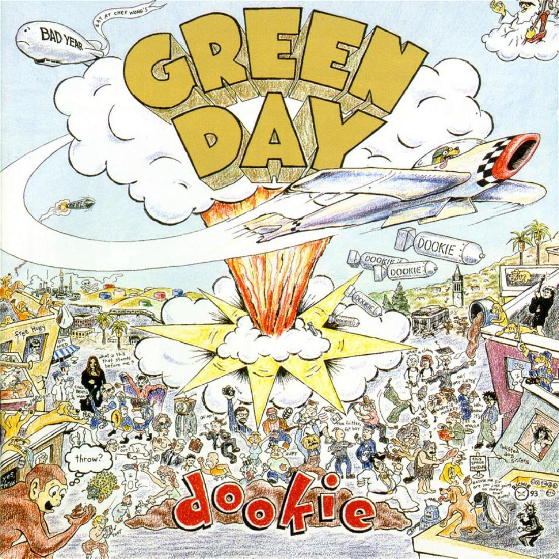 Green Day Dookie 1994
